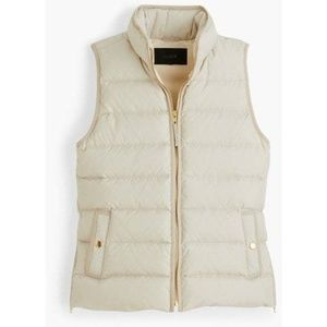 NWT J. Crew mountain puffer vest